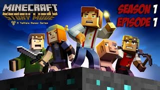 Minecraft Story Mode - Season 1 - Episode 1 - Game Movie