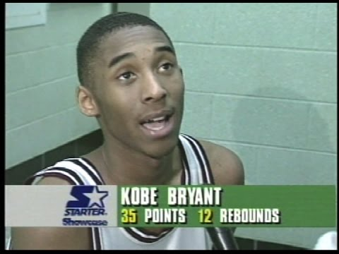 Norristown Vs Lower Merion 1995 kobe Bryant High School Game Against Big Star video