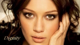 Watch Hilary Duff Dignity video