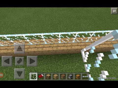 Minecraft haciendo una casa