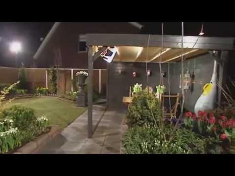 Lampen robs grote tuinverbouwing – Licht in de badkamer
