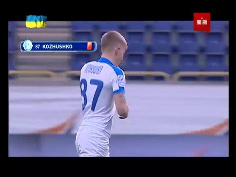 Днепр - Зирка - 1:0. Удаление: Олег Кожушко (80')
