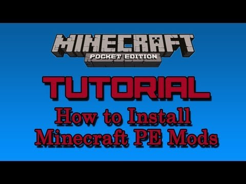 How to Install Mods on Minecraft PE v0.6.1