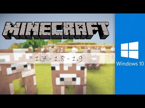 Descargar Minecraft para Windows 7/8/8.1/10 100% COMPATIBLE