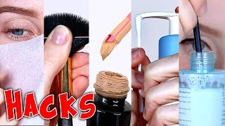 6 SUPER EASY MAKEUP HACKS! | Lauren Curtis
