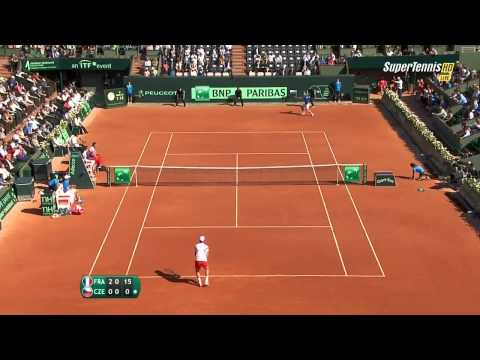 Tomas Berdych vs Richard Gasquet Davis Cup 2014