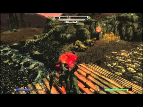 The Elder Scrolls Skyrim Dawnguard Vampire Lord Gameplay All Perks Unlocked