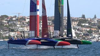 Sail GP- Sydney  Team Australia's Jason Waterhouse Interview Day 1