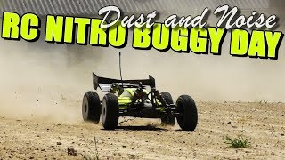 RC Nitro Buggy Day - Dust and Noise