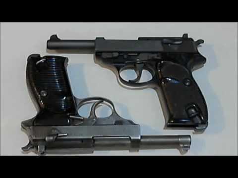 Немецкиe пистолеты Вальтер П-38 и П-1. 1943 и 1986