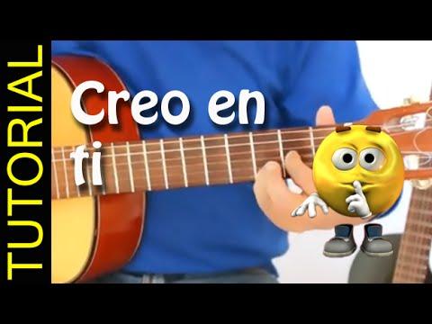 Creo en ti - Reik - Como tocar en guitarra
