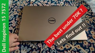Dell Inspiron 15 7572 Unboxing & Full Review