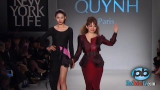 Quỳnh Paris và buổi trình diễn tại Tuần Lễ Thời Trang New York 2015