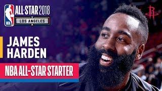 James Harden 2018 All-Star Starter | Best Highlights 2017-2018