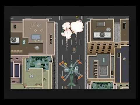 Urban Strike (MegaDrive) Mission #1 Hawaii