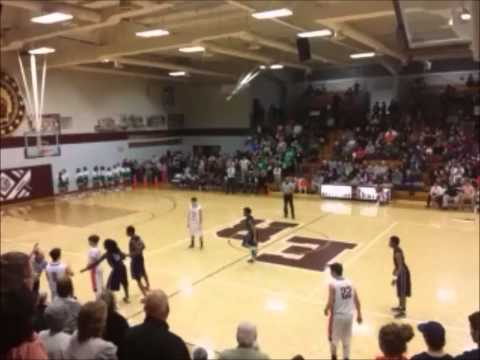 2014 Nashville Christian School Region 5A Semifinals - 02/26/2014