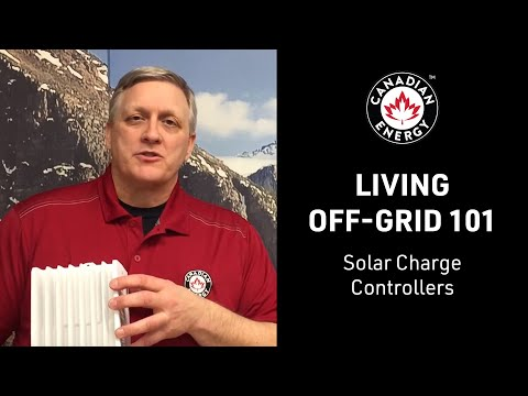 Living Off-Grid 101 - Solar Charge Controllers (7/12)