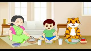 Bengali Nursery Rhyme   Bengali Kid Song   Sonkhya Ak Dui Tin numbers 1, 2, 3   Chotto Amra Shishu