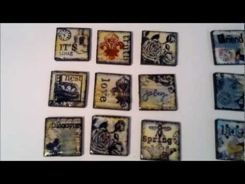 Art tiles tutorial youtube for Ceramic mural tutorials