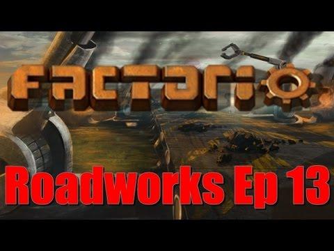 Factorio Roadworks Mod: Episode 13 - Petroleum Gas