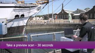 Gannit - Physical Digital 3D scanning of HMS Gannet