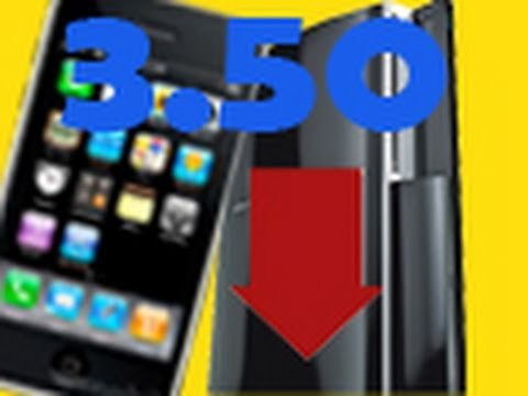 Downgrade PS3 with iPhone iPod Touch Tutorial 3.50 to 3.41