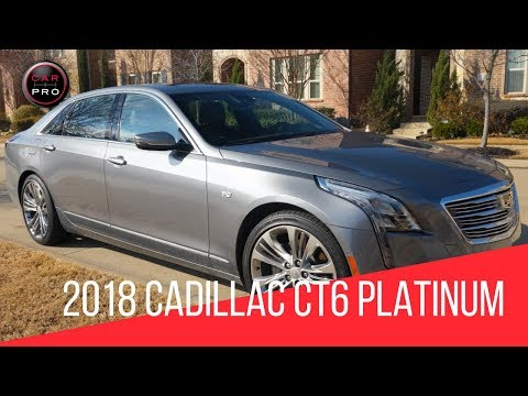 2018 Cadillac CT6 Platinum With Super Cruise