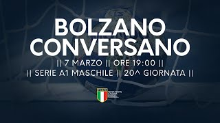 Serie A1M [20^]: Bolzano - Conversano 28-21