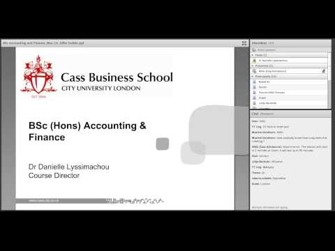 BSc Accounting and Finance at Cass Business School