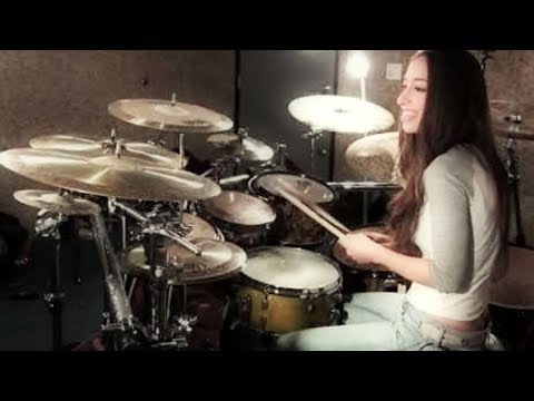 Bullet For My Valentine - Tears Don't Fall - Drum Cover By Meytal Cohen video