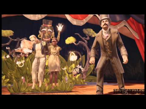 BIOSHOCK INFINITE - THROWING THE BALL AT THE COUPLE