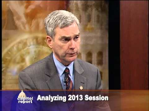 Senate Republican Leader David Hann Comments on 2013 Session