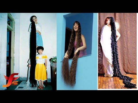 Real life rapunzel family