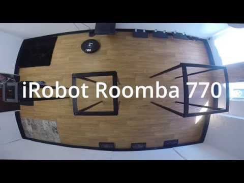 IRobot Roomba 770 - UNBOXING And REVIEW - Robotic Vacuum ...