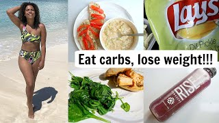 What I Eat in a Day to Lose Weight! Calorie Deficit, Portion Control ... CHIPS!!!