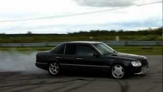 Mercedes-Benz 300DT W124 OM606 Diesel smoke burnout