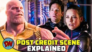Ant-Man and The Wasp Post Credit Scenes   Explained in Hindi