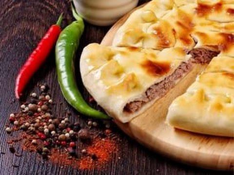 Как приготовить осетинский пирог. осетинские пироги с мясом, фыджин