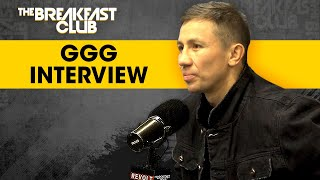 Gennadiy Golovkin On Fighting Sergiy Derevyanchenk & Seeing Canelo Álvarez Again