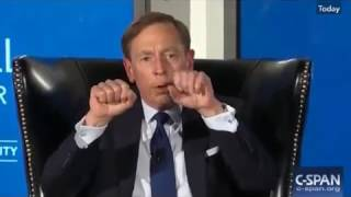 David Petraeus Talks Iran