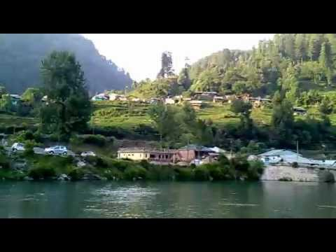 the amazing nature view of barot district mandi himachal pradesh latest video 15 june 2012