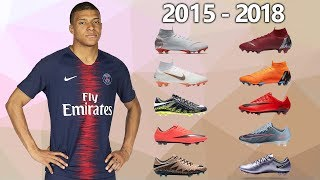 KYLIAN MBAPPE - NEW SOCCER CLEATS ALL FOOTBALL BOOTS 2015-2018