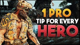 [For Honor] 1 Pro Tip for every Hero #2 | Vortiger Included | High Level
