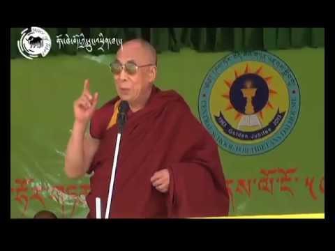 Dalai Lama graces CST Dalhaousie's Golden Jubilee Celebration : 28 April 2013