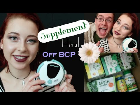 Going off Birth Control Pill + Hormone Supplement Haul (Lady Comp)