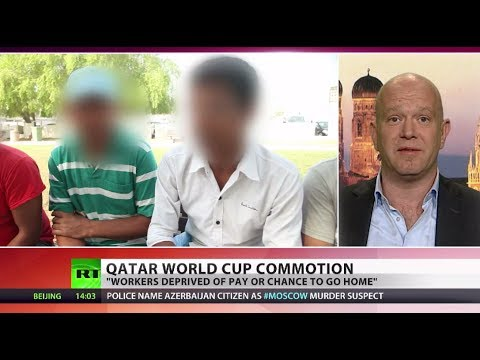 Hidden Slavery: Journos detained after filming World Cup labor horrors in Qatar