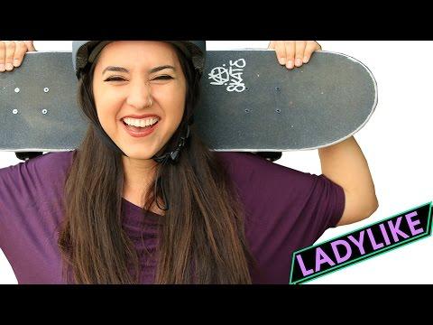 Women Learn To Skateboard For 30 Days • Ladylike