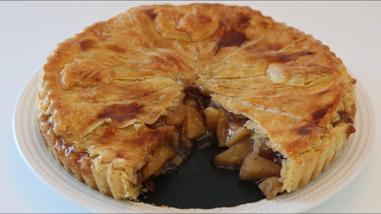 best apple pie recipe cookingwithalia episode 350. Black Bedroom Furniture Sets. Home Design Ideas