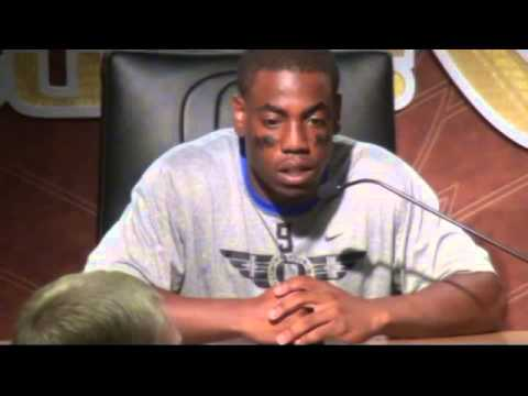 POST GAME;  Byron Marshall Discusses South Dakota Win