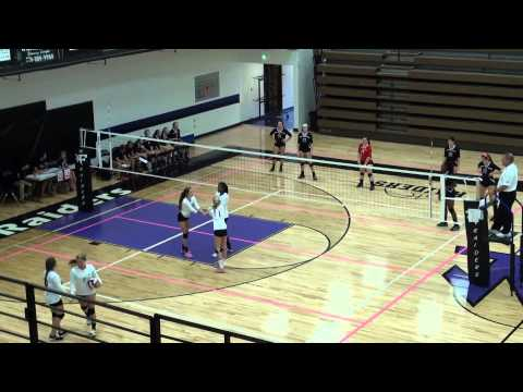 [17] Forsyth Challenge | Forsyth Central HS Girls Varsity Volleyball vs Stratford Academy (Set 1) - 08/29/2014